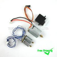 Free Shipping Sales Promotion MJX F45 F645 Spare Parts Accessories Combo 010 Main Motor Servo 2