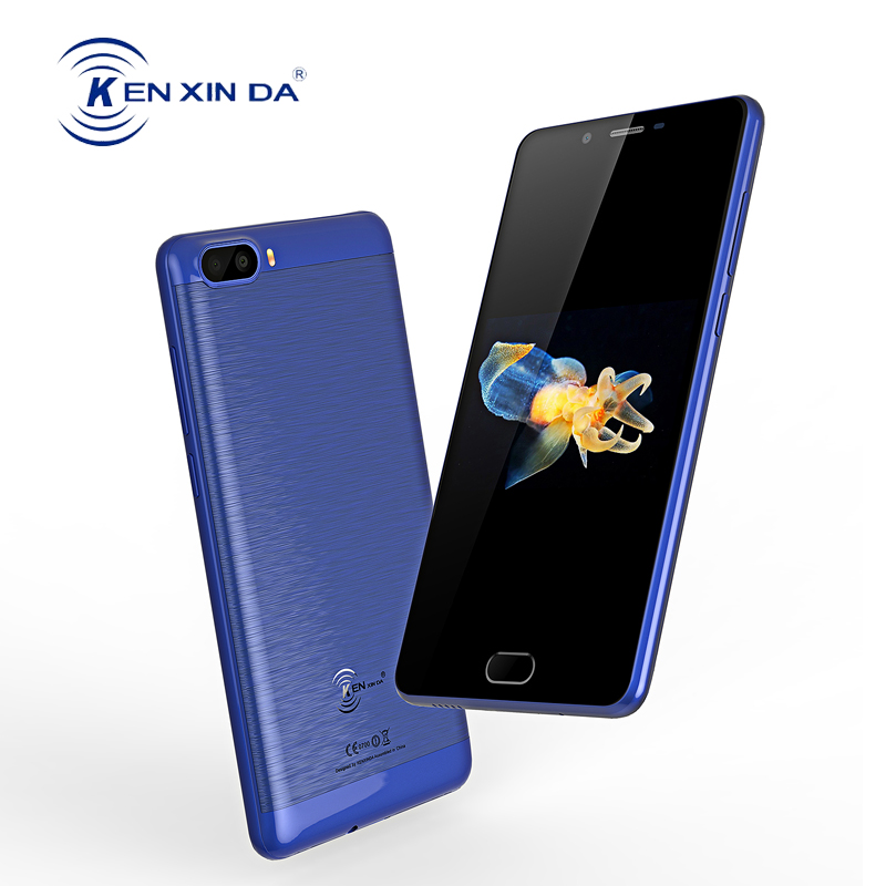KENXINDA S9 4G Mobile Phone Global Version 5000mAh Android 7.0 Quad Core 2+16G 13MP Dual Camera Smartphone 5.5 Inch Fingerprint