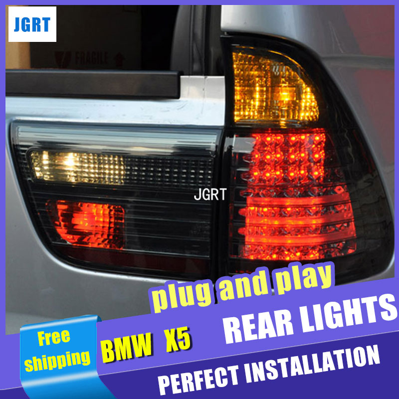 car styling For BMW X5 taillights 1999-2002 for X5 rear lights dedicated car light led taillight assembly