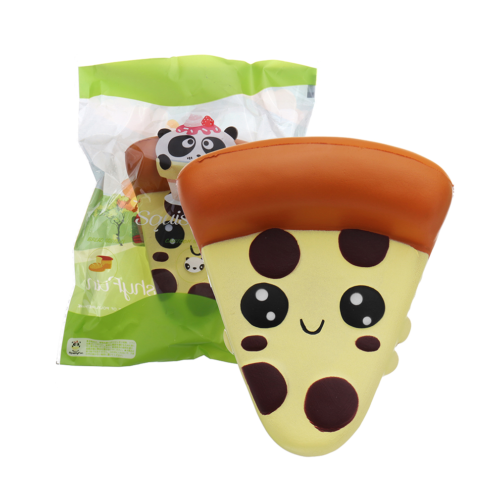 Kawaii Pizza Jumbo Squishies Slow Rising Squeeze Toy Sweet Cake Bread Scented For Squishy Gift For Kids Fun Toy Phone Bag Charm Moderate Price Cellphones & Telecommunications Mobile Phone Accessories