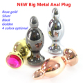 4 color big pull beads anal dildos Anal Butt Plug metal erotic toys intimate tool for anal sex penis gay Adult Sex Toys For men