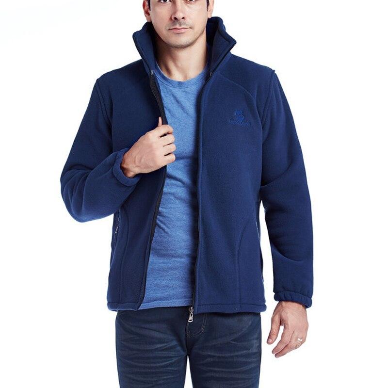 High Quality Winter Jacket Men Outwear Warm Fleece Jacket Men Thicked Polar Fleece Jacket Thermal Windbreaker
