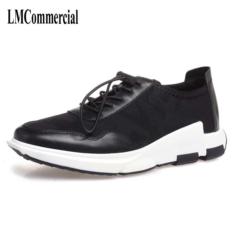 Men's spring and summer shoes breathable sneaker men casual shoes new camouflage sneaker leather shoes the spring and summer men casual shoes men leather lace shoes soled breathable sneaker lightweight british black shoes men