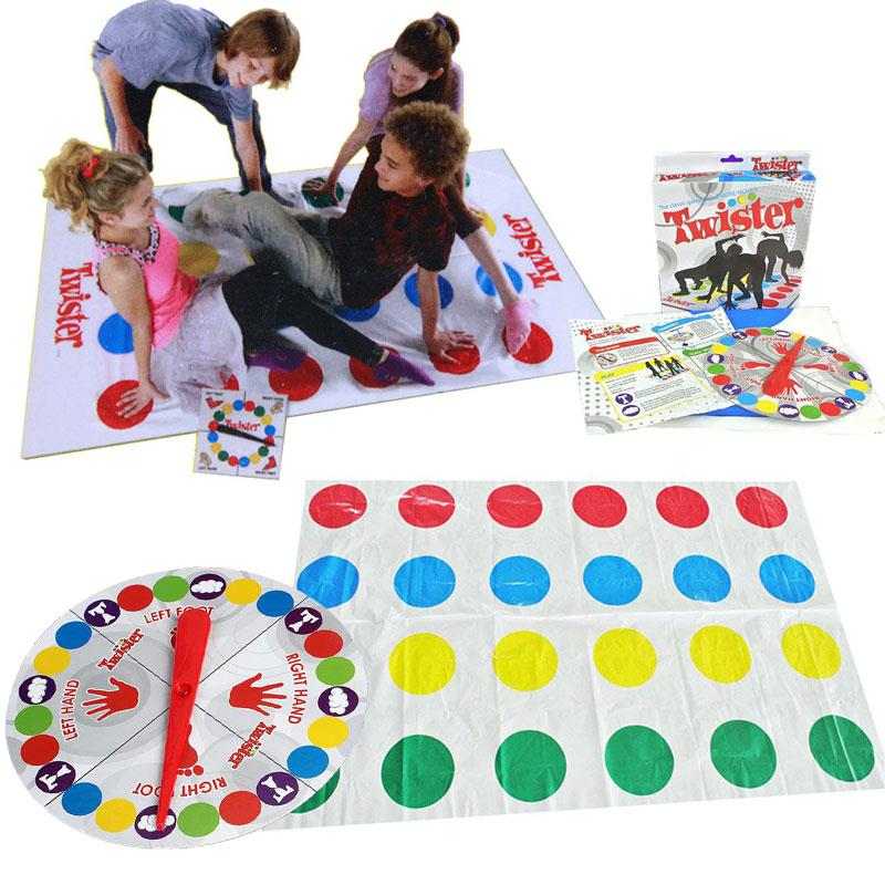 2017 Fun Outdoor Sports Toys Twister Moves Game font b Play b font font b Mat
