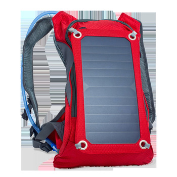 Solar backpack solar power board outdoor sports travel to mobile phone digital electrical power supply water bag 1