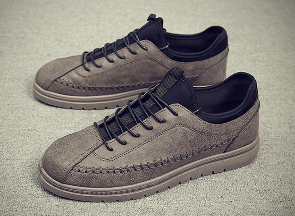 Chaussures brown Hommes Société Black Petites Correspondre De Automne Des Loisirs La Pour Augmentent À khaki L'entreprise Mode Casual qHpEUAHwa
