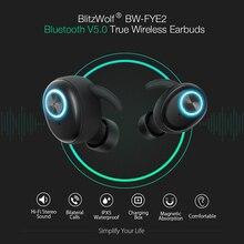 Blitzwolf BW-FYE2 TWS True Wireless écouteur bluetooth V5.0 écouteurs sport écouteur Hi-Fi stéréo appels sonores casque casque