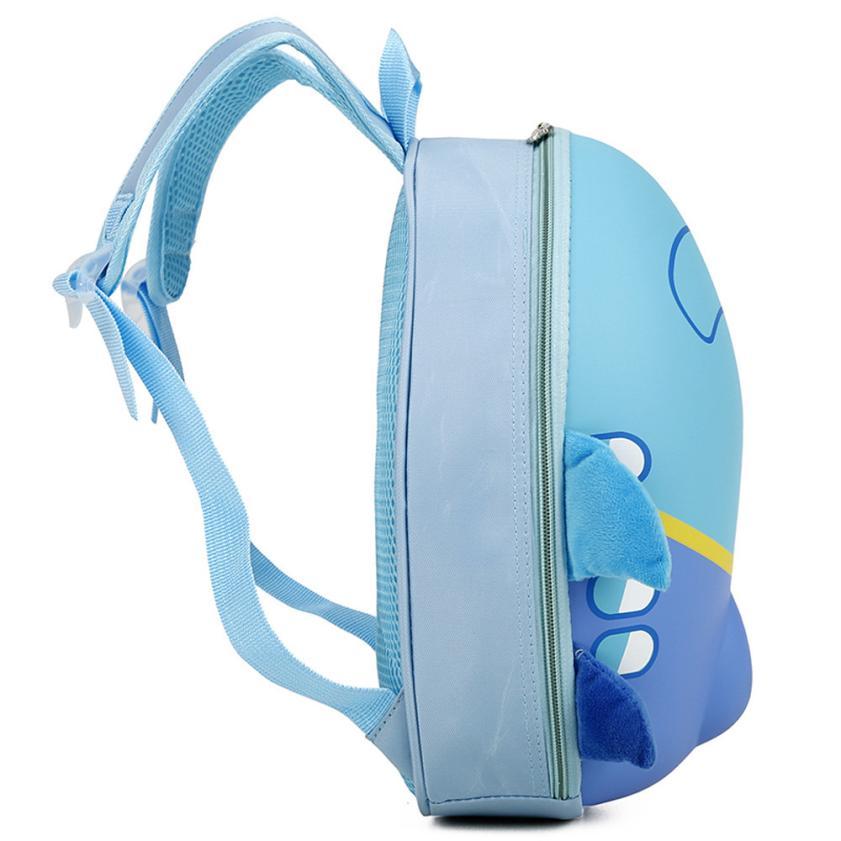 Xiniu Airplane Cartoon Eggshell backpack children bags kids rucksack 2018 School Bag for girls boy school bag travel backpacks#W