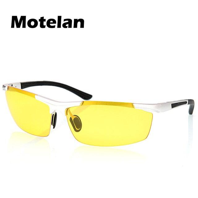 Новые мужские поляризованных солнцезащитных очков зеркало движения ночного видения goggle человек night special вождения рыбалка солнцезащитные очки óculos де visão noturna