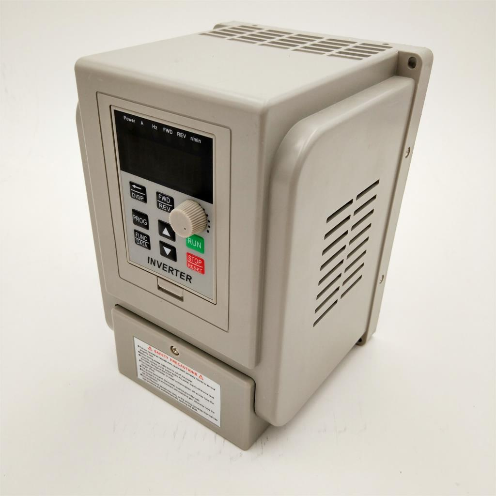 Frequency Converter VFD CNC Spindle motor speed control VFD 1.5KW/2.2KW CoolClassic ZW-AT1 3P 220V OutputFrequency Converter VFD CNC Spindle motor speed control VFD 1.5KW/2.2KW CoolClassic ZW-AT1 3P 220V Output