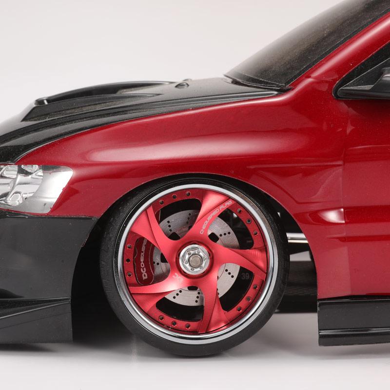 DC RC 1:10 ABALONE DISC BRAKE FOR YOMOKO YD2 SPLUS SX EXF2 DRIFT CAR DCB-9012 4PCS NEW 4pcs gt power dynamic wheel led light set for rc drift car brake disc