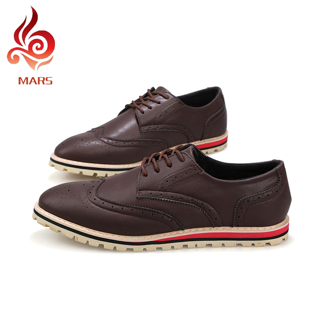 756dc9ced19bb4 2015 Spring Autumn Men Shoes Fashion New Wedding Shoes Men Comfortable Office  Brogue Shoes Oxford Shoes