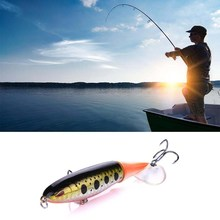 13g Fishing Lure Artificial Fish Shape Lifelike Propeller Tr