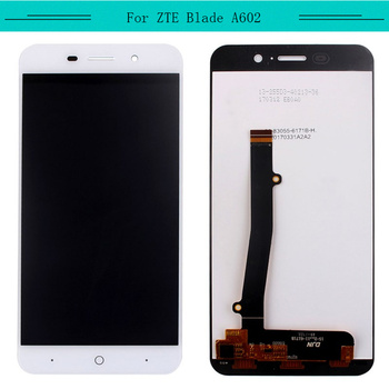 Tested 3pcs/lot  For ZTE Blade A602 Full LCD With Touch Screen Glass Digitizer Sensor Assembly Free Shipping