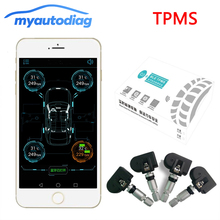 BLE Wireless Bluetooth 4 0 Car font b TPMS b font Tire Tyre Pressure Monitoring System