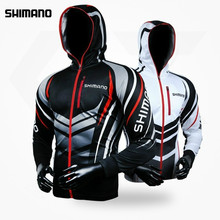 2018 Shimano Fishing Clothes Hooded Males Jacket Waterproof Fast-Drying Coat Fishing Shirt For Mountain climbing Biking Fishing Garments
