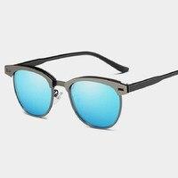 Fashion Retro Alloy Polarized Sunglasses Men and Women Sun Glasses Driving Eyewear Male Eye Wear Women Fashion vintage sunglass