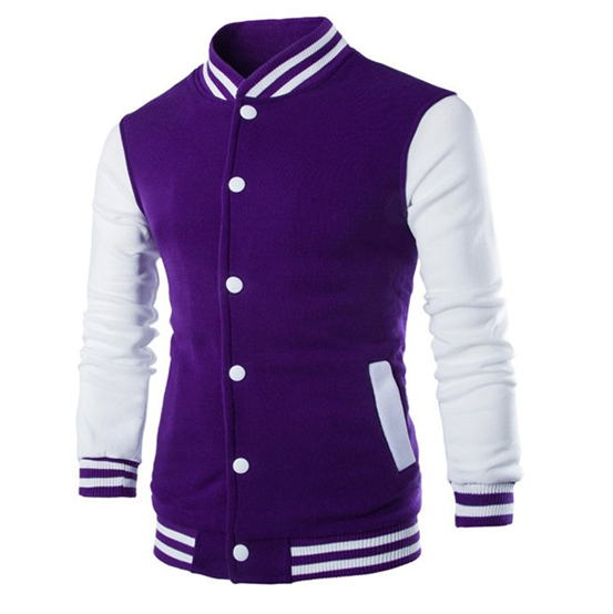 New Men/Boy Baseball Jacket Men 2019 Fashion Design Wine Red Mens Slim Fit College Varsity Jacket Men Brand Stylish Veste Homme