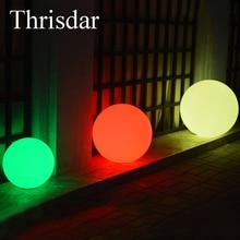 Thrisdar 16Color Floating Swimming Pool Ball Light Rechargeable LED  Illuminated Bar Table Light Outdoor Garden Landscape Light