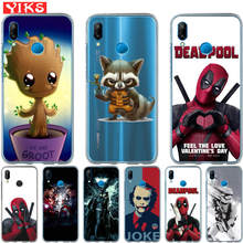 For Huawei mate 9 10 P8 P9 P10 P20 Lite plus pro 2017 Joker Deadpool Cover Steele Case Cases For Huawei P10 Lite Coque Etui(China)