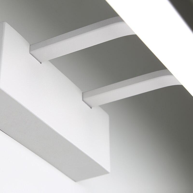 Moderno e minimalista LED luce dello specchio lampada da comodino led lampada da parete luce del bagno ha condotto le luci da parete diretta creativo corridoio camera da letto della lampada - 4