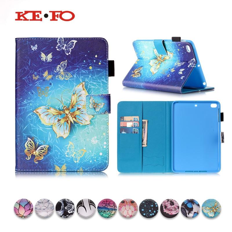 KeFo Für Apple iPad Mini 1 2 3 7,9 zoll PU Leder Fall Abdeckung Für fundas ipad Mini2 Mini 3 coque Abdeckung Smart Stand Auto Schlaf