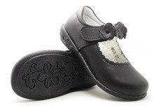 Big girls shoes цветок мэри джейн девушки школы shoes формальная производительность черный действий кожа дети квартиры арка поддержка orthopetic