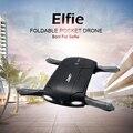 Elfie h37 jjrc rc dron dobrável mini rc zangão selfie quadcopter wi-fi controle drones fpv hd g-sensor modo headless by telefone