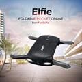 JJRC H37 ELFIE RC Drone Дрон Складной Мини RC Selfie Дронов мультикоптер WiFi FPV HD G-sensor Безголовый Режим Управления By телефон