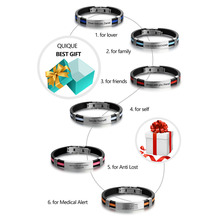 Personalized Engraved ID Bracelet