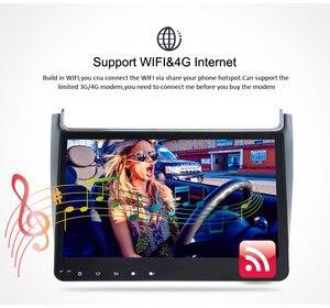 Image 5 - 4G RAM אנדרואיד 9.0 רכב רדיו מולטימדיה נגן עבור פולקסווגן פולו 2015 2017 GPS וידאו WIFI Bluetooth ניווט סטריאו אין DVD