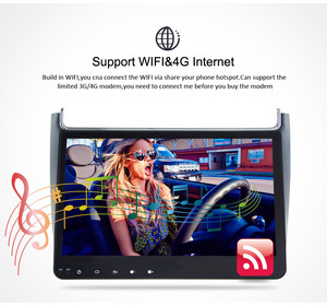 Image 5 - 4G RAM Android 9,0 Car Radio reproductor Multimedia para Volkswagen Polo Volkswagen 2015 2017 GPS Video WIFI Bluetooth navegador estéreo SIN DVD