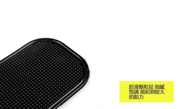 DHL или FedEx 300 шт. Мощный Силикагель хороший волшебный Липкий Коврик Противоскользящий нескользящий коврик для телефона КПК mp3 mp4 автомобиль