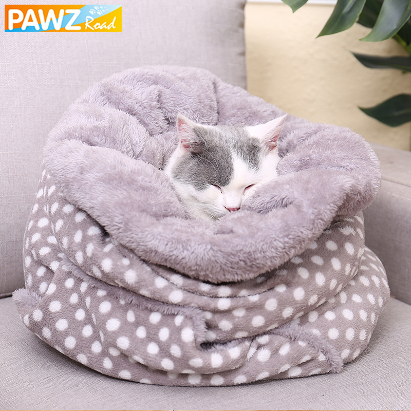Pet Bed Super Soft Fleece Winter Warm Small Animal
