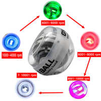 Exklusive Produkt! die LED Farbwechsel Mit Der Geschwindigkeit! Power StrengthTraining Kraft Ball Kreisel Kreisel Handgelenk Ball Exerciser