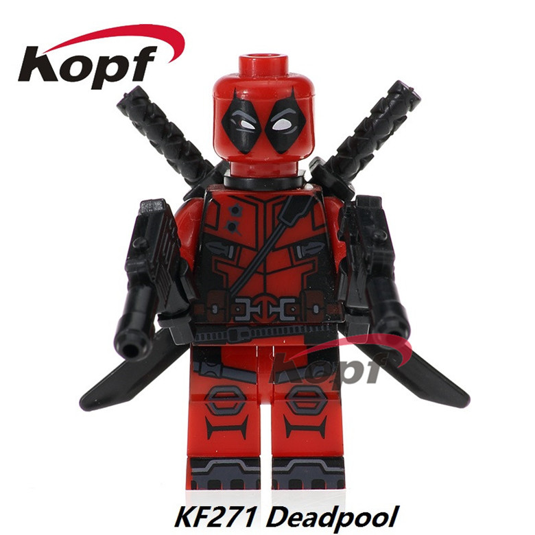 50Pcs Series Fawkes Model The Antiheroes Bricks Deadpool Action Figures Building Blocks Figures For Children Toys