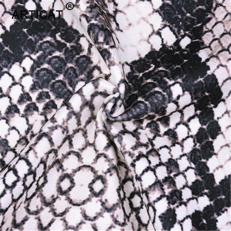 749acffabd ... Artiact Snake Skin Strapless Crop Top Women Jumpsuit Two Piece Set High  Waist Shorts Playsuit Casual
