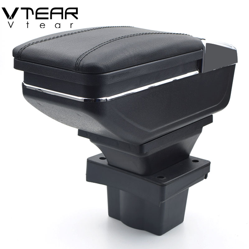Vtear For Skoda Octavia A5 Yeti armrest box central Store content box storage interior car styling