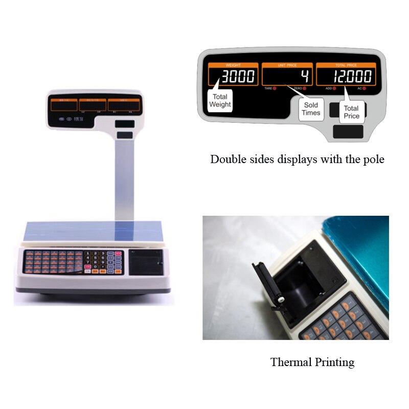 POS Sisteminin qiymət hesablama miqyası üçün ölçülən - Ofis elektronikası - Fotoqrafiya 4