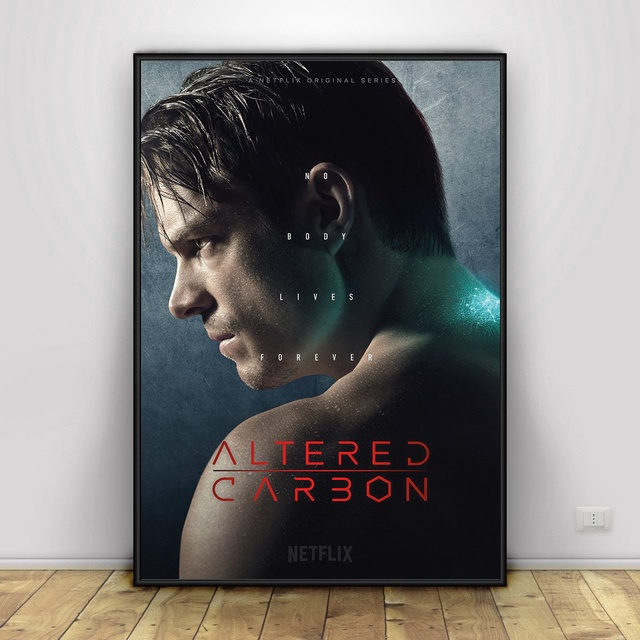 US $8 88 40% OFF|Altered Carbon TV Show Art Prints Silk Poster And Print  Wall Art Picture Painting Home Decor for Living Room-in Painting &
