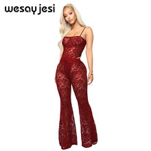 Sexy 2 piece set women female clothing women fashion 2018 bodysuit top and pants lace sexy&club new women set clothing summer