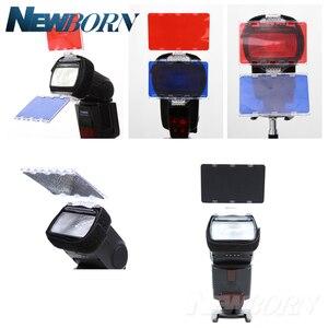 Image 2 - FALCON Mắt CFA 30K Bộ Đèn Flash 30 Màu Gel với Bộ Barndoor & Phản Quang & Túi dành cho Máy Ảnh Canon Nikon YONGNUO ĐÈN Flash GODOX