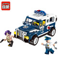 ENLIGHTEN 149Pcs City Police Series Hunted Escapee playmobil Building Blocks baby Toys compatible lepin building bricks