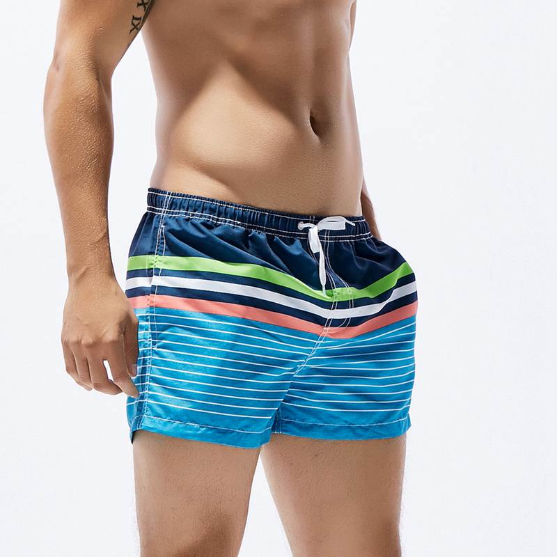 Summer Board Shorts Men Beach Quick Drying Boxer Sea Man Casual Beachwear Suit Plus Size Male Comfortable Loose Boardshorts