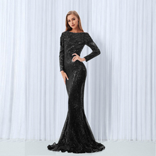 Long Sequined Night Length