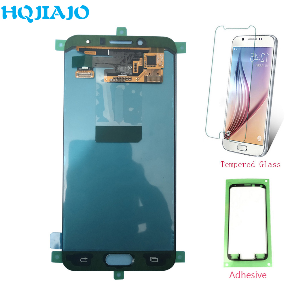 Super Amoled LCDs For Samsung C5 Pro C5010 LCD Display Assembly Touch Screen Digitizer For Samsung