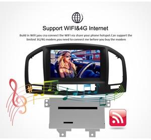 Image 4 - אנדרואיד 10.0 רכב dvd סטריאו רדיו נגן עבור אופל ווקסהול Insignia CD300 CD400 2009 2012 אוטומטי וידאו GPS ניווט מולטימדיה