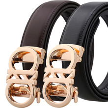 New Big Buckle Fashion Belts Good Quality Cowskin Durable Waist Belt Straps Business Casual Men Belts Split Leather Men Belts belts men 140cm 150cm 160cm 2017new fashion business casual male belt strong men best popular selling goods cool choice hot sale