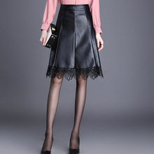modellen en rok rokken