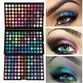 Lo nuevo de 3 Capas de 252 Colores Paleta de Sombra de ojos Tierra Color Shimmer Mate Sombra de Ojos Cálidos Maquillaje Cosmético Belleza Set